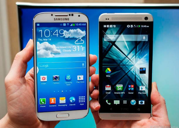 Galaxy S IV и HTC One