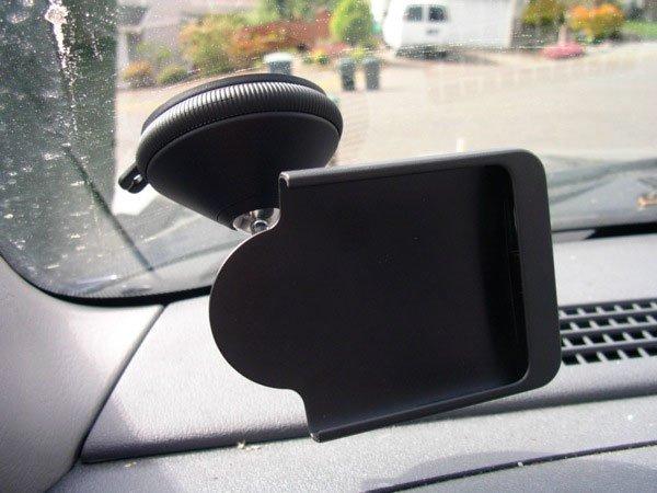Крепления автодержателя D160 для HTC One к стеклу