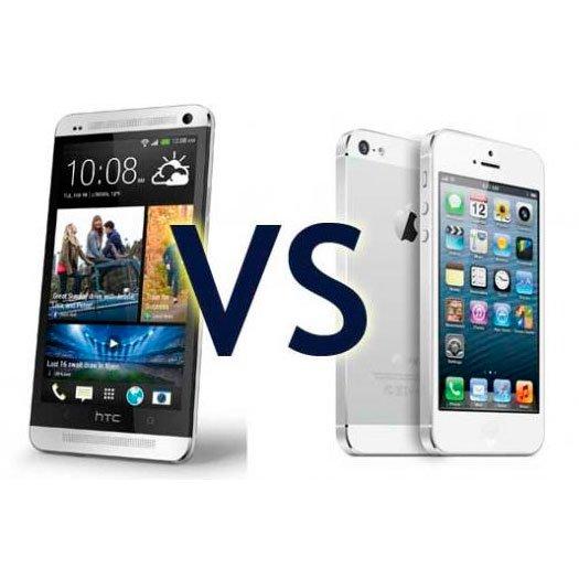 Сравнение HTC One и iPhone 5: какой смартфон выбрать?