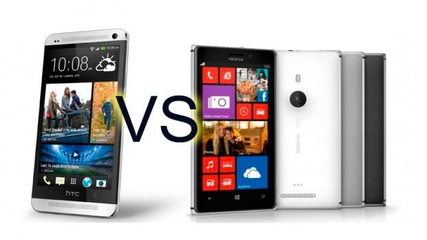 Сравнение Nokia Lumia 925 и HTC One