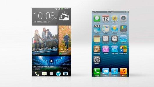 HTC Sense 5 и iOS