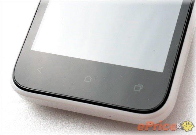 HTC Desire 200 — низ лицевой стороны