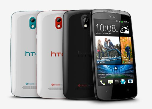 HTC Desire 500 — цветовые варианты