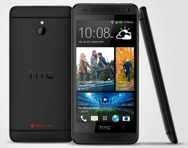 HTC One mini черного цвета