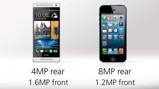 Сравнение камер HTC One mini и iPhone 5