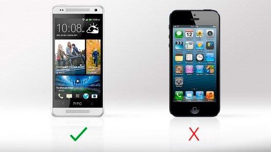 Сравнение динамиков HTC One mini и iPhone 5