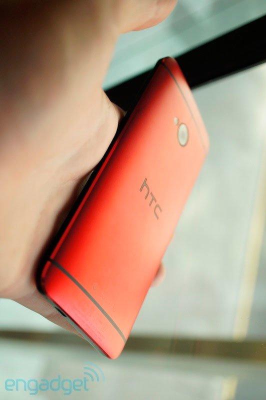 Красный HTC One