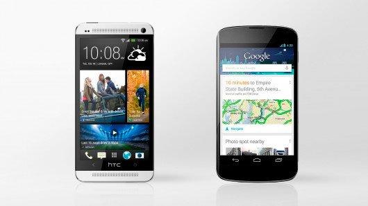 HTC One или Nexus 4