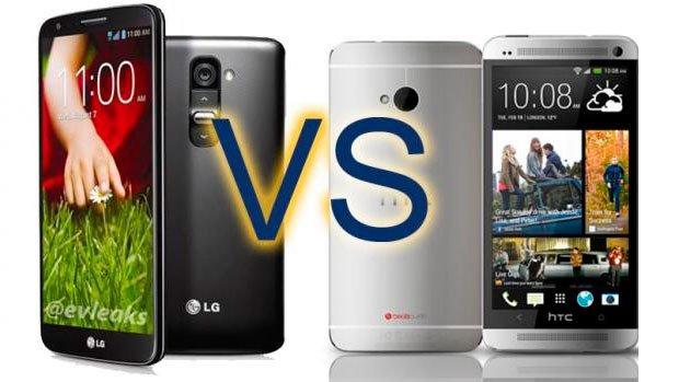 Сравнение HTC One и LG G2