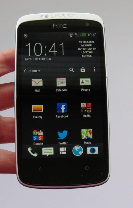 HTC Desire 500 — интерфейс HTC Sense 5.0
