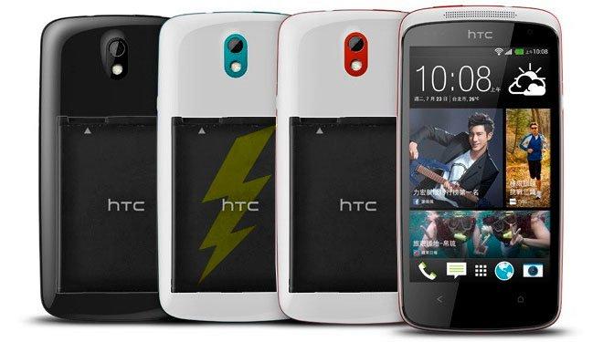 Тестирование времени работы HTC Desire 600
