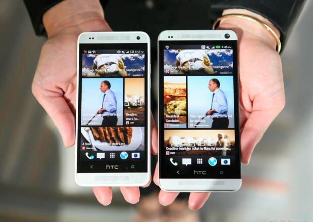HTC One mini и HTC One
