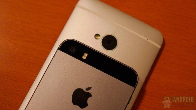 Сравнение iPhone 5s и HTC One: камеры
