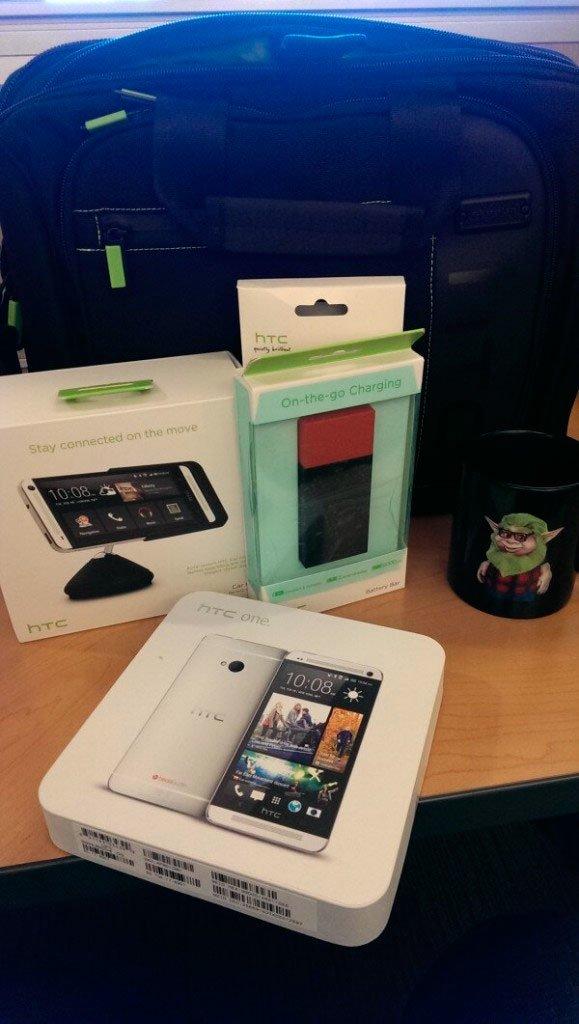 Подарочный набор от HTC