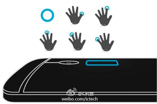 Сканер отпечатков пальцев в HTC One max будет работать с несколькими пальцами