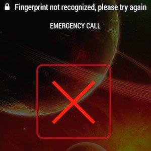 Сенсор отпечатков пальцев в HTC One max: отпечаток не распознан