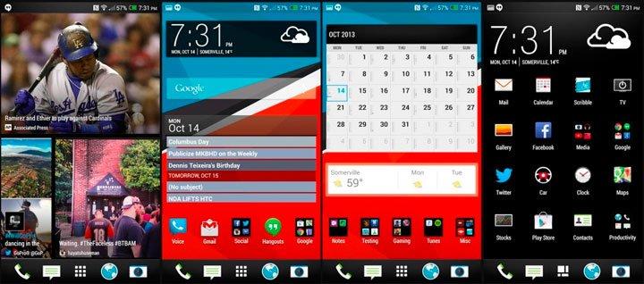 HTC Sense 5.5 в HTC One max