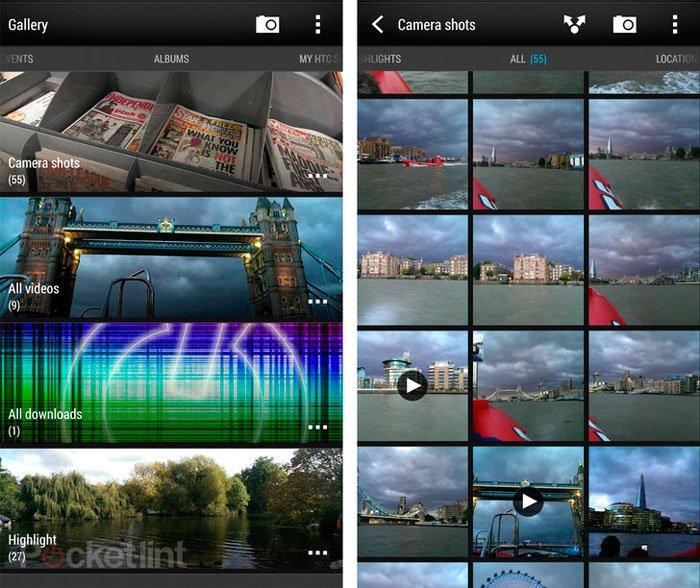 Камера и Галерея в Sense 5.5 на HTC One max