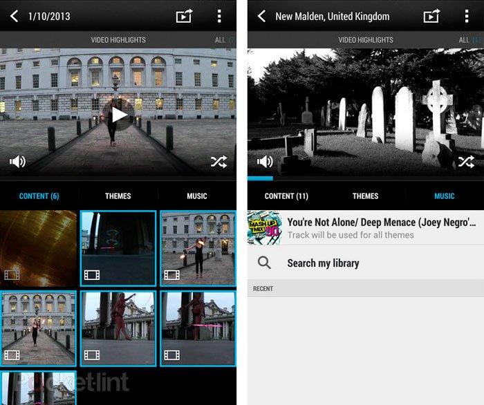 HTC видеомоменты в Sense 5.5 из HTC One max