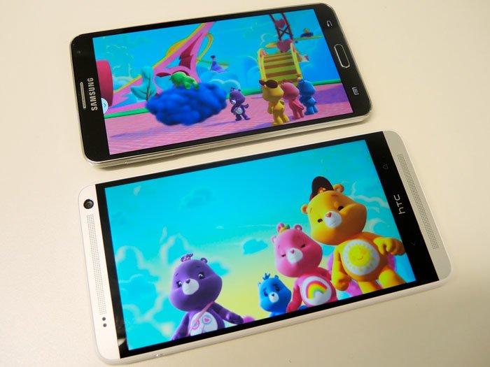 HTC One max и Samsung Galaxy Note 3