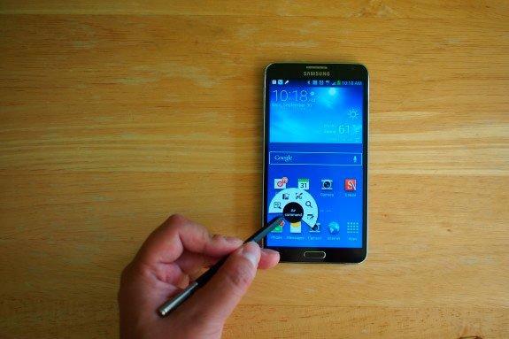 Стилус в Galaxy Note 3