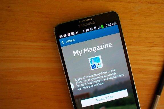 Samsung My Magazine