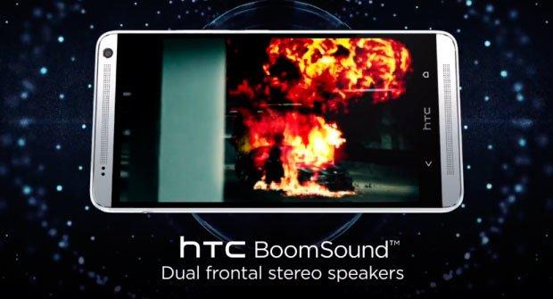 Звук BoomSound в HTC One max