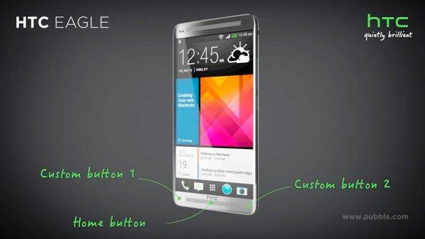 Концепт смартфона HTC Eagle