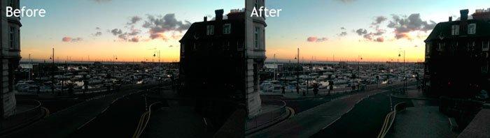 Результат обработки фотографии в программе Photoshop Touch
