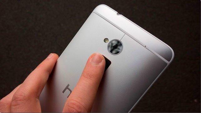 Cканер отпечатков пальцев в HTC One max