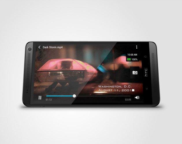 Черный HTC One max