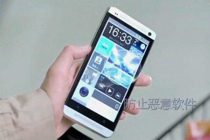 Китайская операционная система COS на HTC One