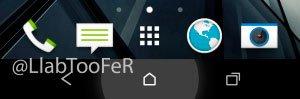 Экранные клавиши в HTC Sense 6.0