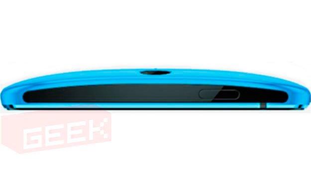 Верхний торец HTC One 2 (2014)
