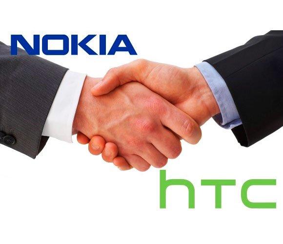 Nokia и HTC подписали соглашение о патентном сотрудничестве