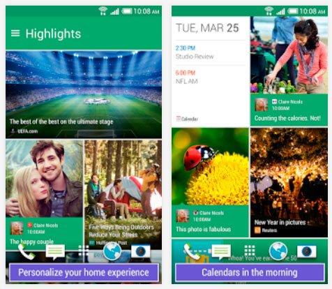 Обновленный HTC BlinkFeed