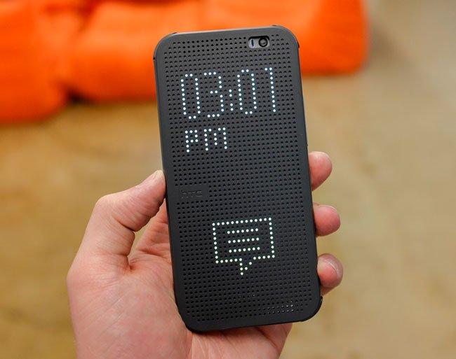 Чехол Dot View для HTC One M8