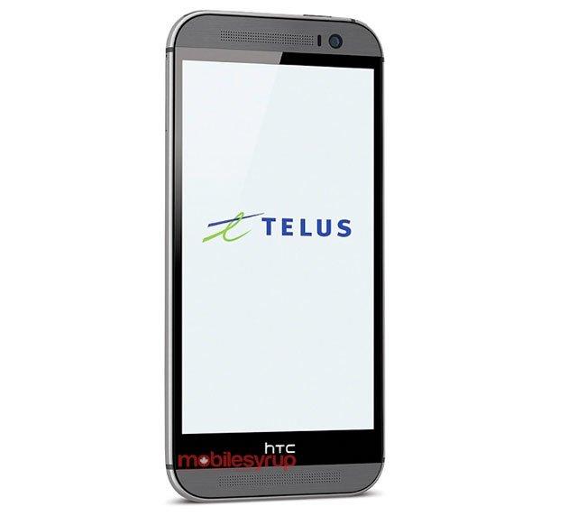 HTC One 2 (2014) для оператора Telus (Канада)