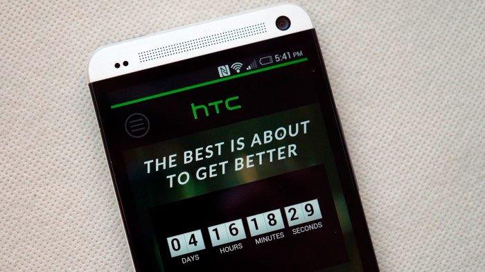 Отсчет времени до презентации HTC One 2014
