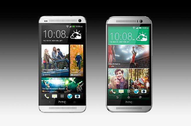 Сравнение HTC One M7 и One M8