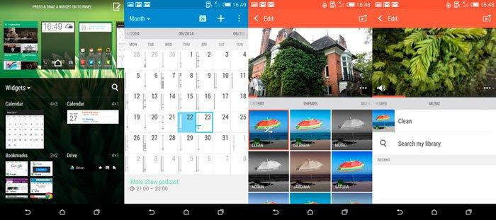 HTC Sense 6.0 в HTC Desire 816