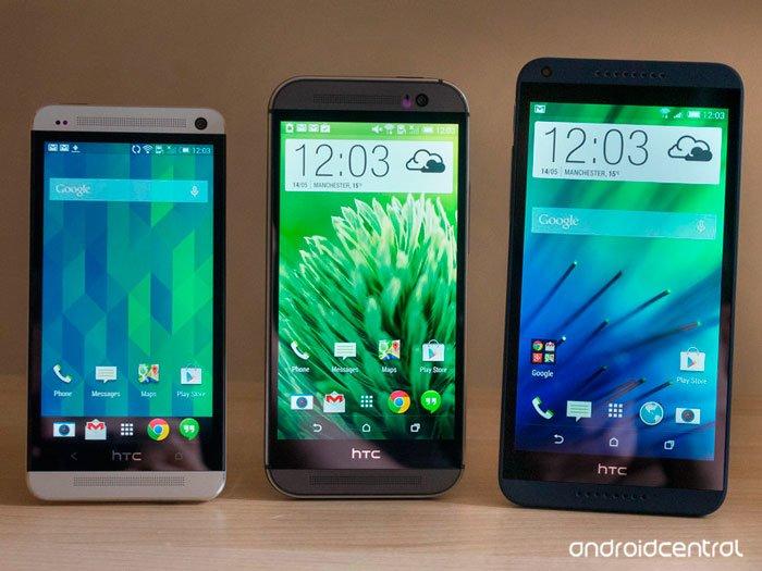 HTC One mini, One M8 и Desire 816