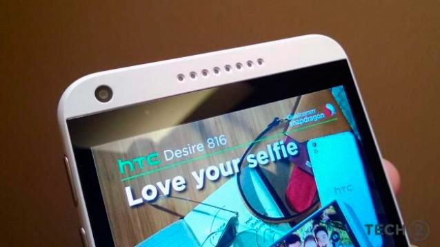 HTC Desire 816 хорош для «селфи»