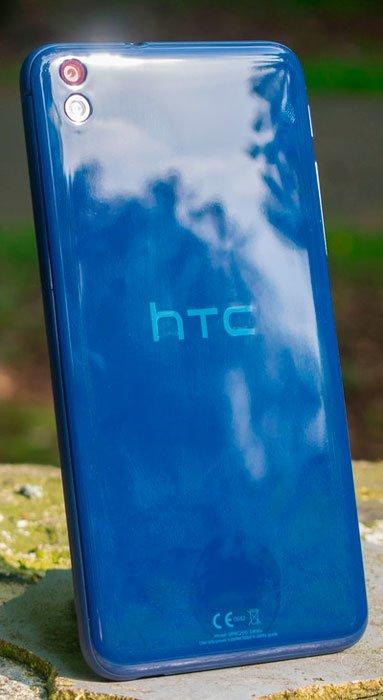 HTC Desire 816 сзади