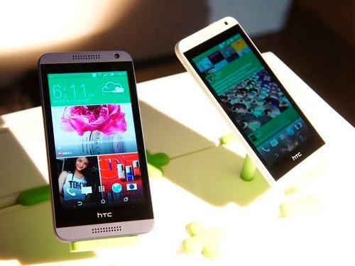 Экраны смартфонов HTC 2014 года