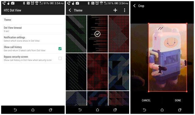 Обновление программы HTC Dot View
