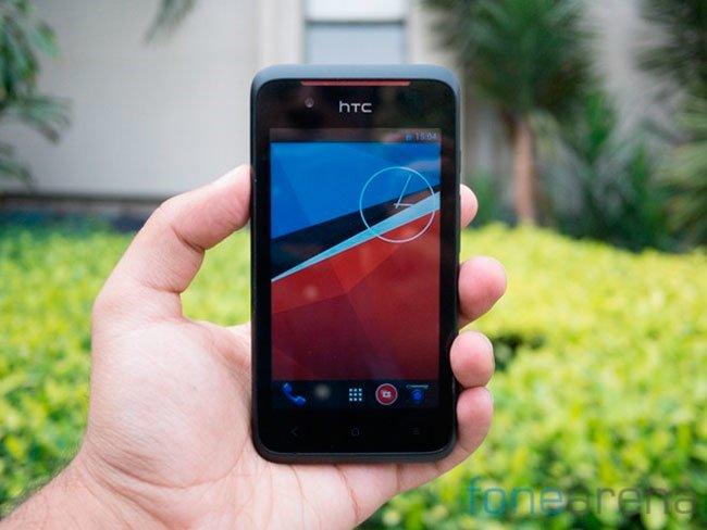 HTC Desire 210 спереди