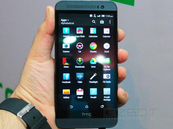 HTC One E8 спереди