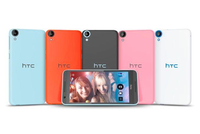 HTC Desire 820 — разные цвета корпуса