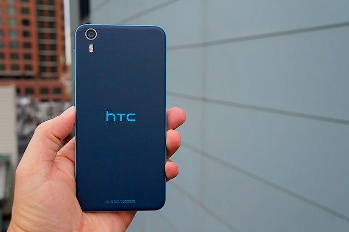 HTC Desire Eye сзади
